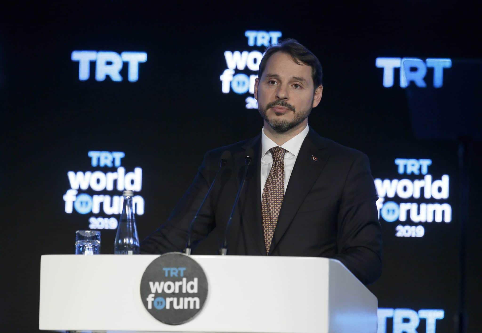 براءت ألبيرق وزير المالية التركي